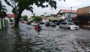 Ruas jalan Padang-Pasaman Barat direndam banjir hingga 50 centimeter